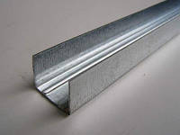 """UD27"""" L=3м (0,5мм) профиль для гипсокартона направляющий потолочный, стеновой"""
