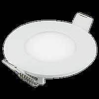 Светодиодный светильник  3w LED LIGHT 4000К Круг (метал)