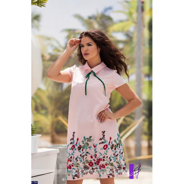 f89c368db5f Летнее модное платье из льна Вышиваночка 48-54 р-ры