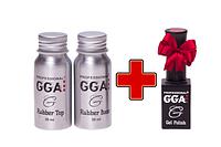 Акция ! При покупке топ и база 30 мл.GGA Professional гель-лак GGA Professional в подарок!