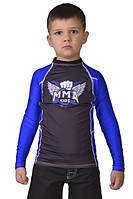 Детский рашгард Berserk MMA Kids синий