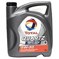 Моторное масло Total QUARTZ INEO ECS 5W-30 4 л