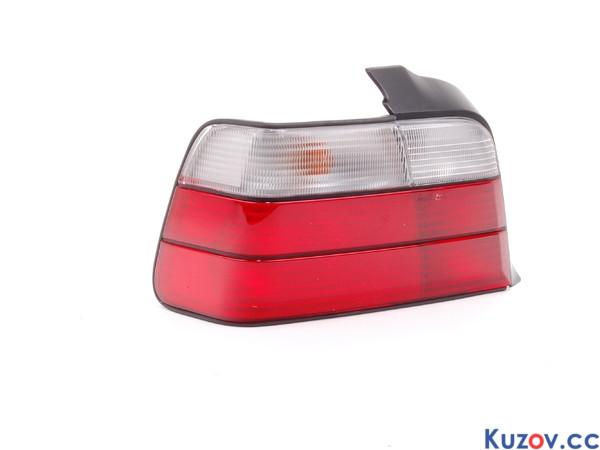 Задний фонарь BMW 3 E36 седан 90-99 левый (Depo) красно-белый 63219403099