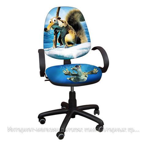 """Детское кресло Поло РМ """"Белка Скрэт"""""""