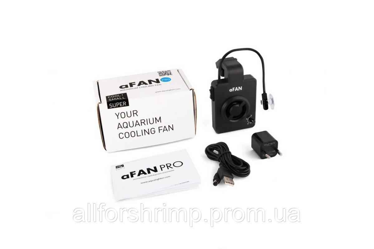 Вентилятор охлаждения aFAN PRO с терморегулятором для аквариума объемом до 100л