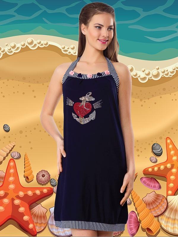 Летняя  туника Турция 6028 - FaShop  Женская одежда от производителя в Харькове
