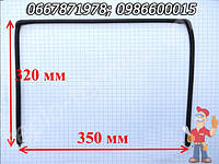 Уплотнение дверей духовки Гефест 350X320 мм (35*32 см), толщина 10 мм П-образное, без фиксации посредине
