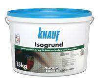 Кнауф Isogrund Водна емульсія для внутрішніх і зовнішніх робіт (з білим пігментом) 15 кг