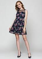 7654 Платье женское синее: imprezz.com.ua
