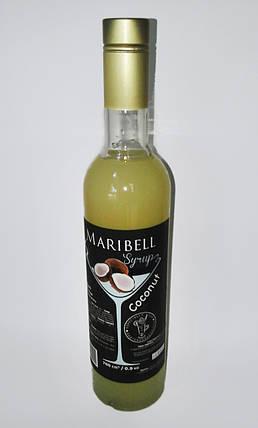 Сироп «Maribell» Кокос, фото 2