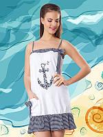 Модная женская туника Турция 6029 белый