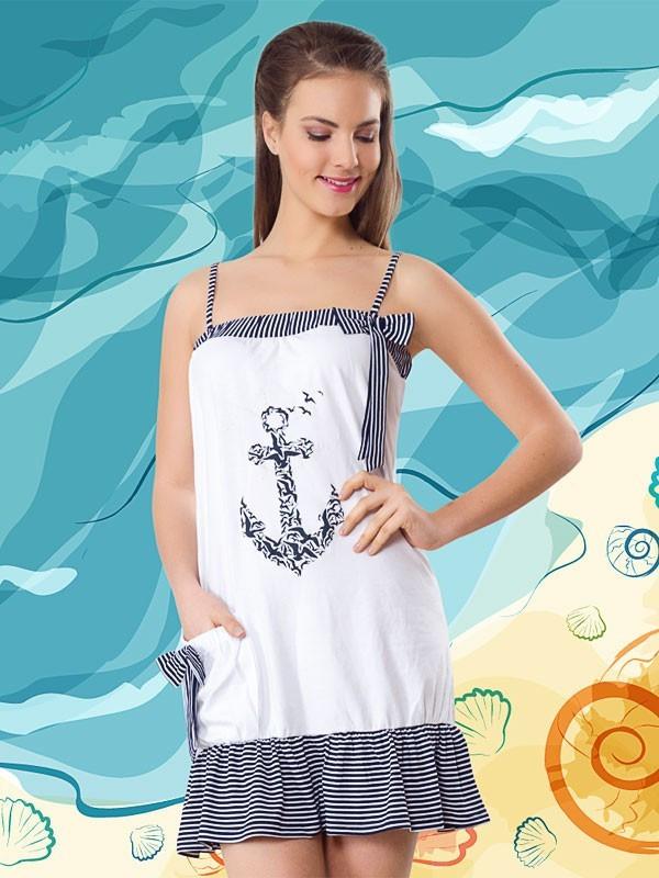 Модная женская туника Турция 6029 белый - FaShop  Женская одежда от производителя в Харькове