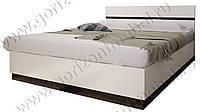 Кровать 1,6 спальня модульная Вегас,ф-ка Горизонт