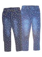 Леггинсы под джинс для девочек GRACE, размеры 98,104,110,116,122,128, арт. G 60575