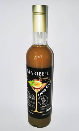 Сироп барный тм «Maribell» Крем Брюле, фото 2
