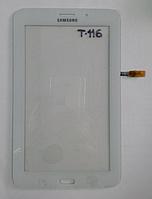 Оригинальный тачскрин / сенсор (сенсорное стекло) Samsung Galaxy Tab 3 Lite 7.0 LTE T116 версия 3G (белый)