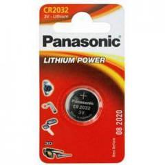 Батарейка CR2032 Panasonic CR-2032EL литиевая 3 Вольта