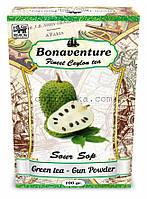 """Чай зелёный Bonaventure """"Sour Sop"""" Саусеп 100 г"""
