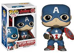 Фигурка  Капитан Америка Марвел: Мстители Marvel: Avengers 2 Captain America Funko Pop