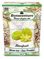 "Чай зелёный Bonaventure ""Starfruit"" (Карамболь) 100 г"