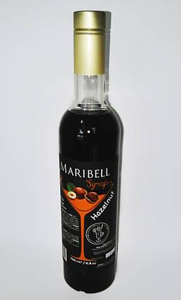 Сироп барный тм «Maribell» Лесной орех, фото 2