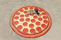 Пляжный коврик Пицца