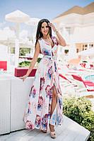 Эксклюзивное платье макси - NV406