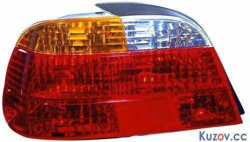 Фонарь задний BMW 7 E38 94-02 левый (Depo) красно-желтый 2022872E, фото 2