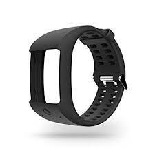 Змінний силіконовий браслет Polar М600 Black