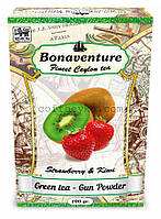 """Чай зелёный Bonaventure """"Strawberry & Kiwi"""" Клубника Киви 100 г"""