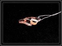 Серебряное женское кольцо 113