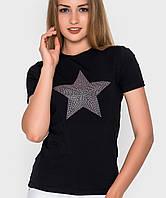 Женская футболка со звездой (5009 sk)