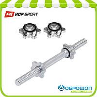 Гриф гантельный Hop-Sport 40см (30мм), фото 1
