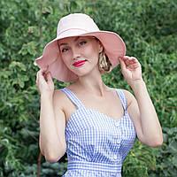 Шляпа нежно-розового цвета