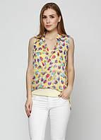 8044 Блуза летняя желтая: imprezz.com.ua