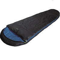 Спальный мешок High Peak TR 300 / +0°C (Left) Black/blue