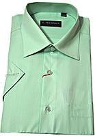 "Рубашка мужская ""Emerson"". Зеленая. Короткий рукав"