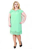 Женское легкое летнее платье больших размеров