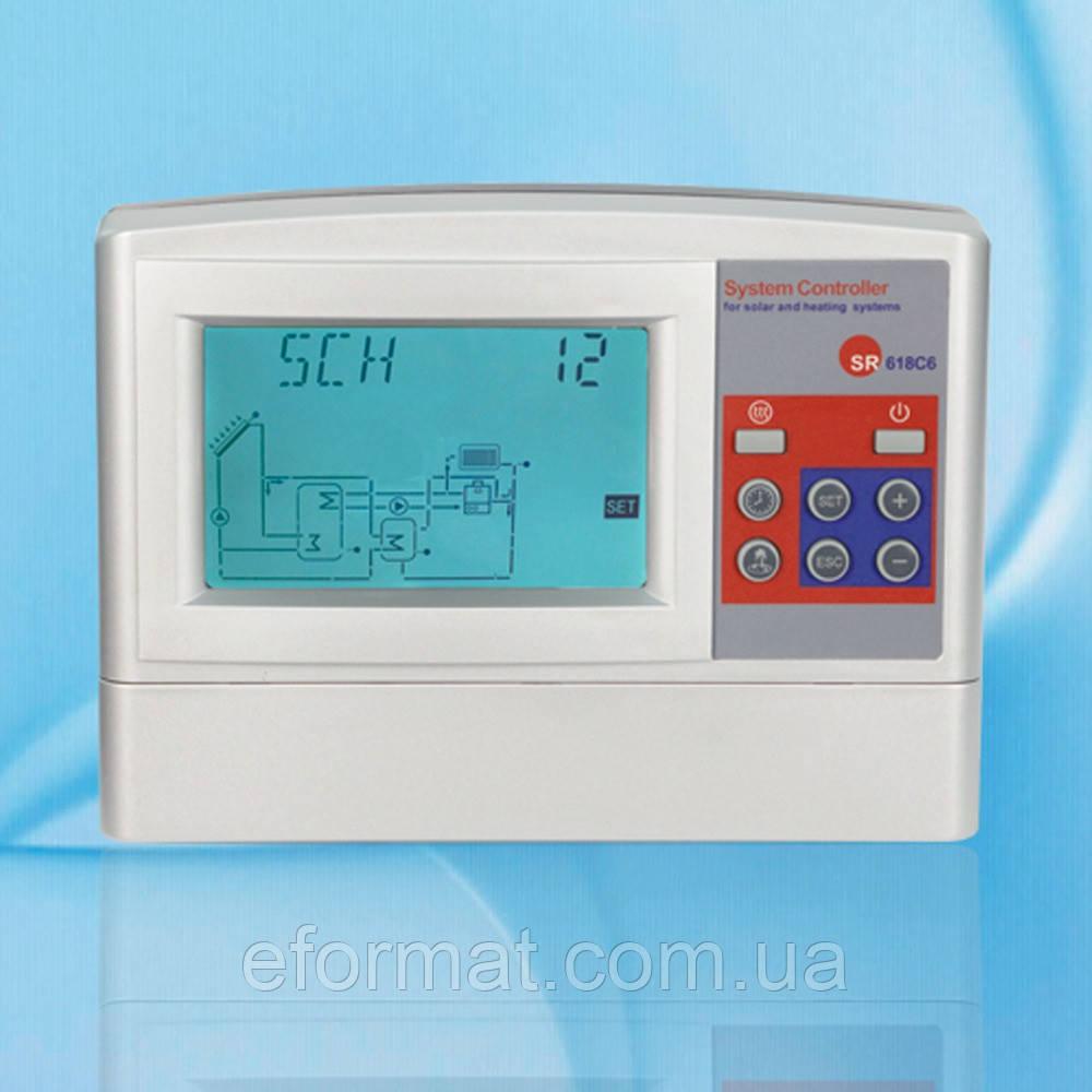 Контролер для геліосистеми SHUANGRI СВУ SR618C6