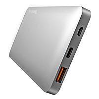 Внешний портативный аккумулятор Baseus QC 3.0 10000mAh Type-C/Micro USB серый