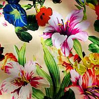 "Ткань шелк набивной ""Армани"" (P5067 дизайн 4), фото 1"