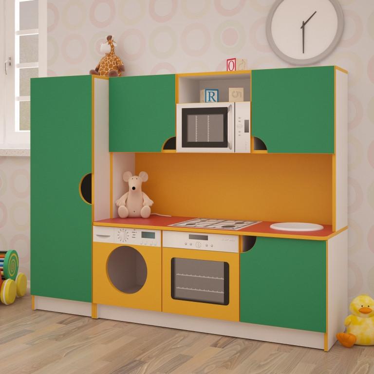 Дитяча ігрова кухня Фіона 1600*430*1250h