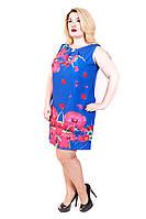 Женское платье из итальянского шифона-лето, фото 1