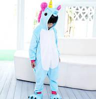 Пижама кигуруми kigurumi костюм Единорог My little pony на рост 130-135см