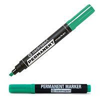 Маркер Centropen зеленый перманентный, 8576