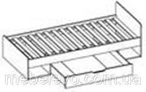 Кровать Типс 900 600х956х2032мм    Мебель-Сервис, фото 2