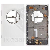 Задняя панель корпуса для мобильного телефона Nokia 1020 Lumia, белая,