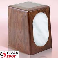 Диспенсер настільний для серветки дерево пластиковий WinPak Wood