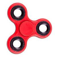 Спиннер Tri Fidget (Красно-черный) Игрушка антистресс