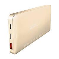 Внешний портативный аккумулятор Baseus QC 3.0 10000mAh Type-C/Lightning золотой
